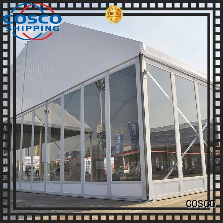 COSCO big polygon tent structure cold-proof