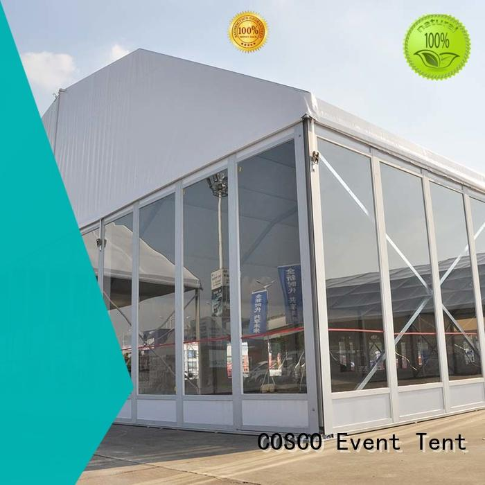 COSCO marquee for sale manufacturer dustproof