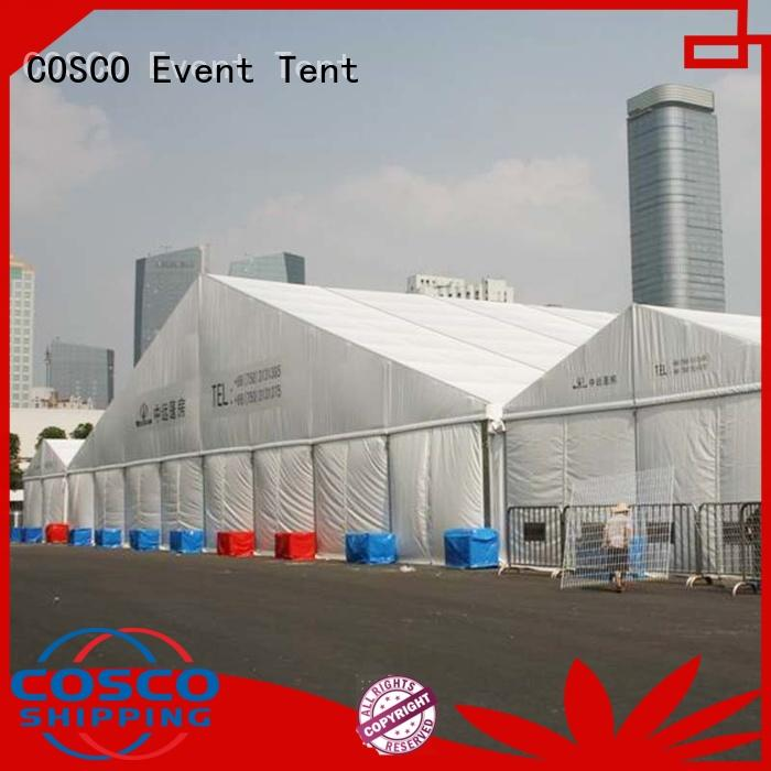 COSCO high peak tent structure marketing rain-proof