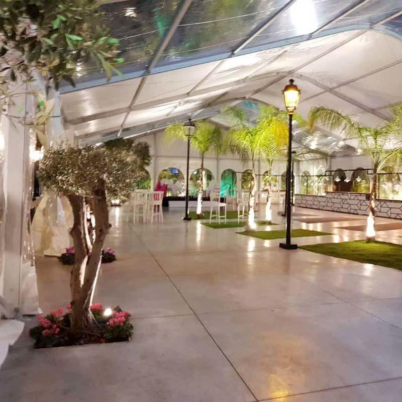 Arcum Tent  Transparent Modular Dome Tent