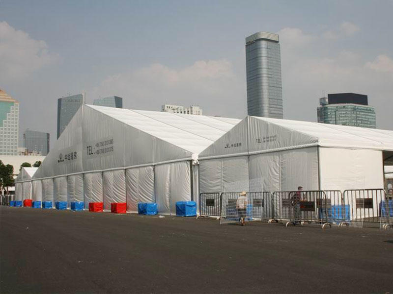 COSCO pagoda tent structure for holiday