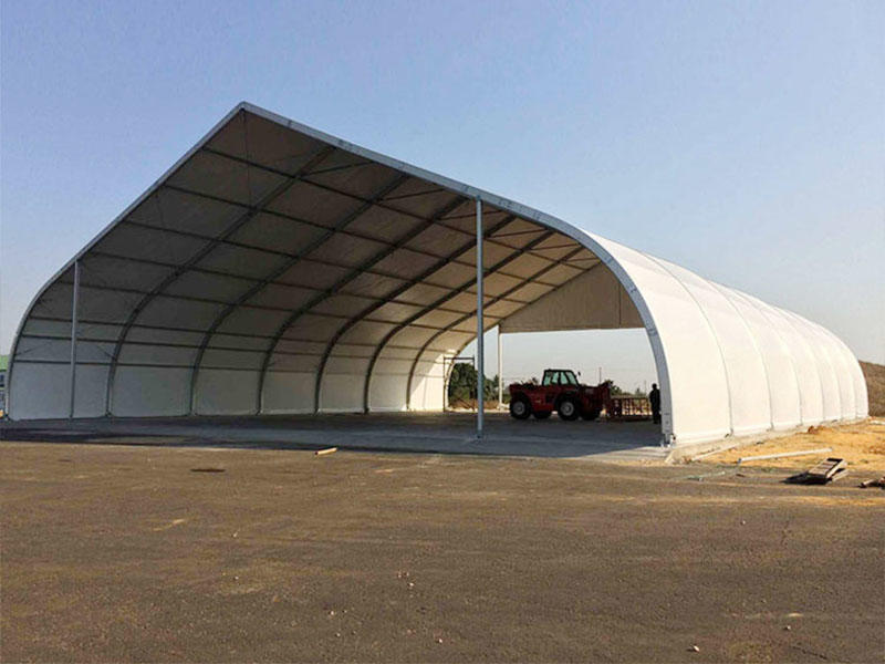 Curved Tent Curved Roof  Big Tent Structure