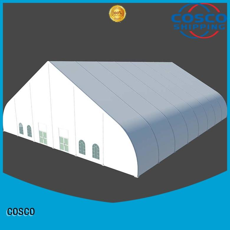 fine- quality outdoor party tents curved marketing dustproof