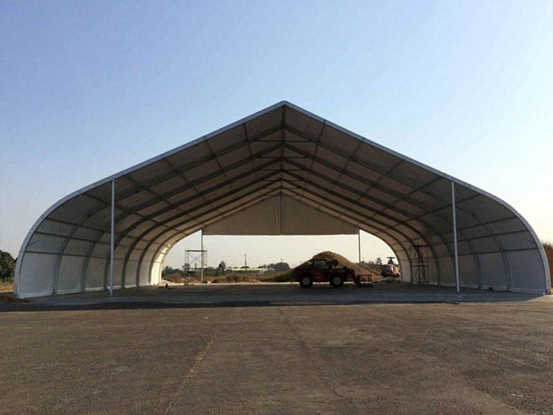 Curved Tent Curved Roof  Big Tent Structure-1