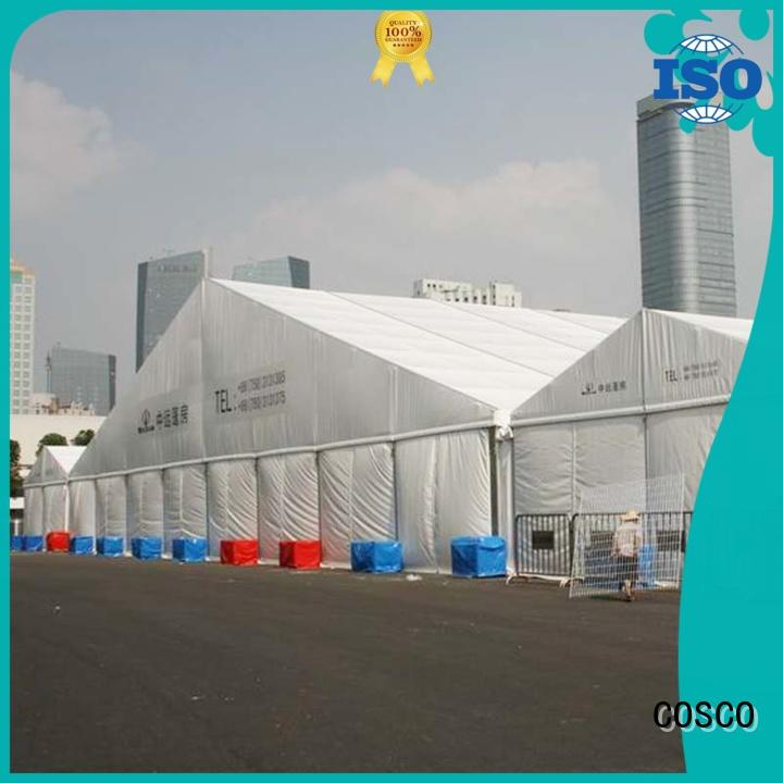 COSCO structure tent structure rain-proof