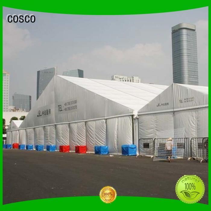 COSCO Brand gazebo exhibition big tent small factory