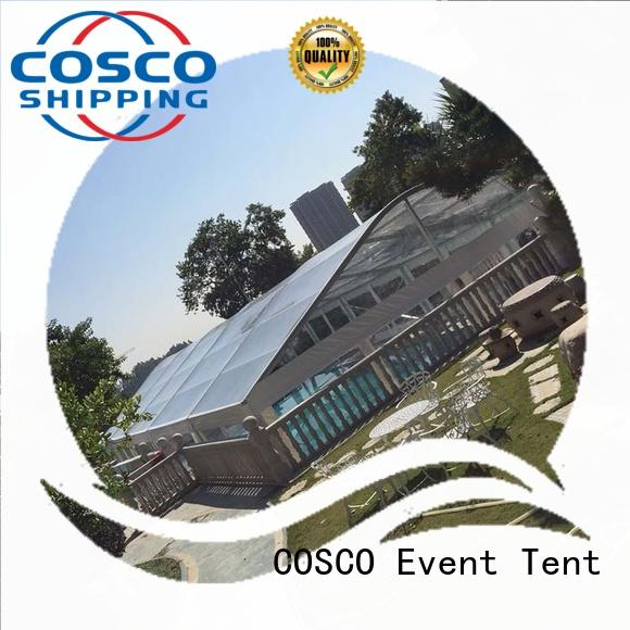 COSCO structure marquee tents prices factory for party