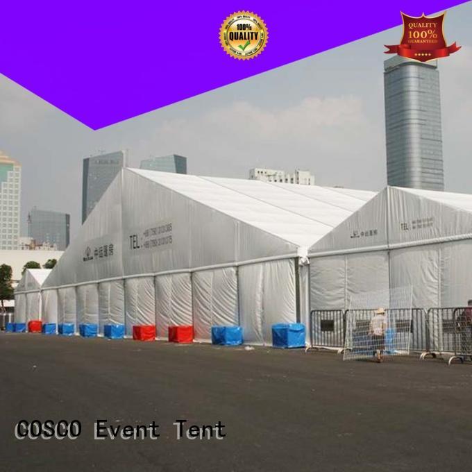 canopy aluminum structure tent rain-proof COSCO
