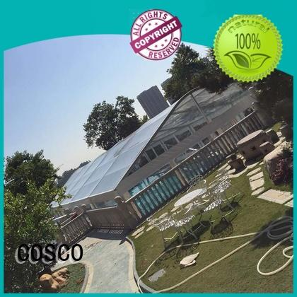 elegant marquee tents prices wholesale factory COSCO