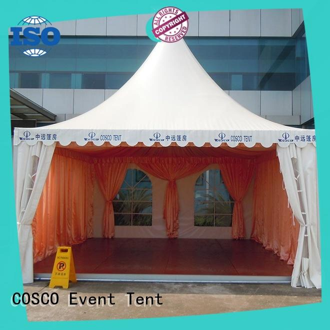COSCO available event marquees certifications for party