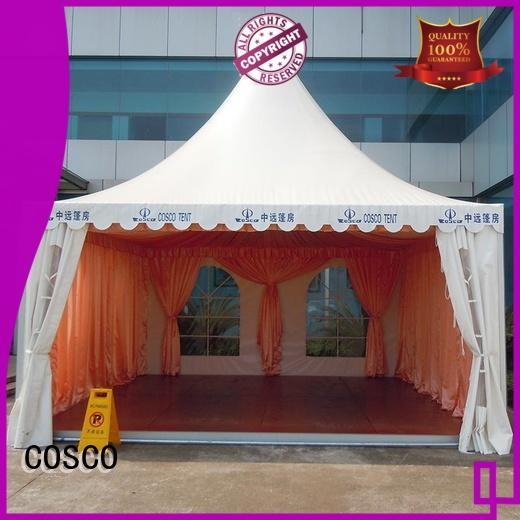 COSCO event pagoda tent assurance