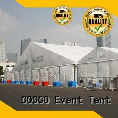 outdoor tent structure marketing grassland COSCO