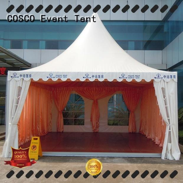 COSCO marquee pagoda tents for sale supplier Sandy land