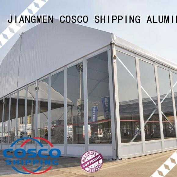 COSCO glass marquee tent factory for event