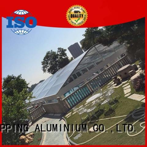 COSCO special pvc canopy tent in different shape for wedding