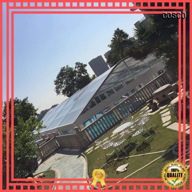 elegant aluminum tent 25x60m for wedding COSCO