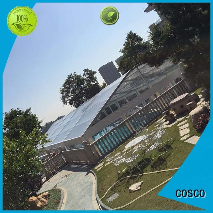 outdoor aluminium tent style cold-proof COSCO