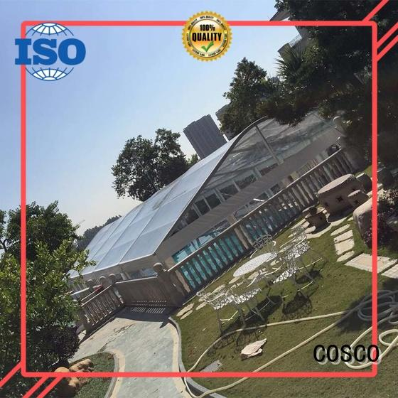 COSCO 25x60m wedding party tent supplier snow-prevention