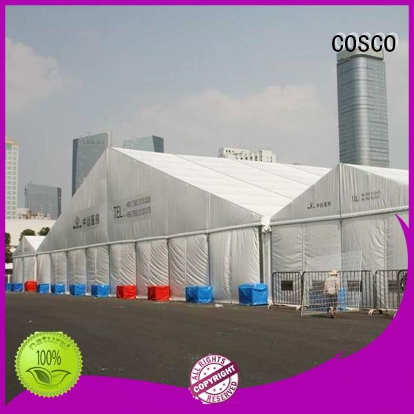 COSCO canopy structure tent outdoor grassland