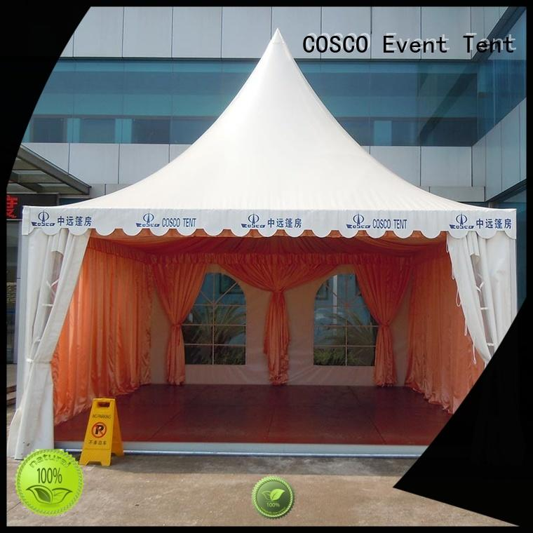 COSCO dome pagoda marquee scientificly rain-proof