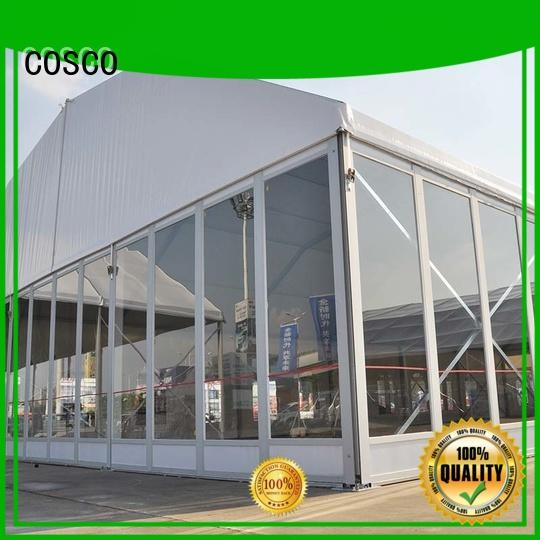 glass sale COSCO Brand tents and events