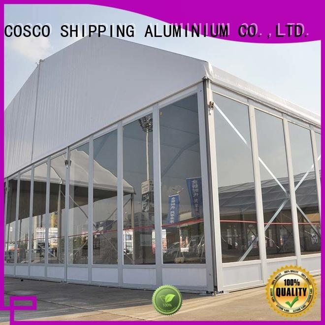 COSCO quality polygon tent vendor snow-prevention