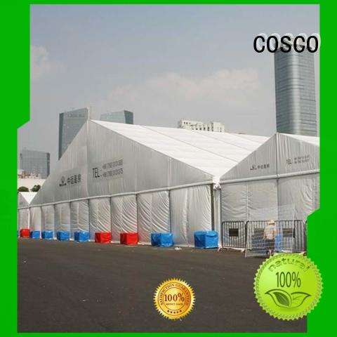 COSCO superior tent structure cost Sandy land