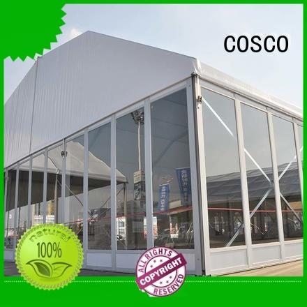 COSCO structure marquee tent supply anti-mosquito