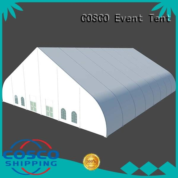 COSCO distinguished outdoor party tents supplier for camping