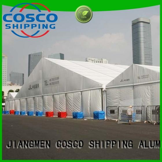 COSCO custom event tent supplier for disaster Relief