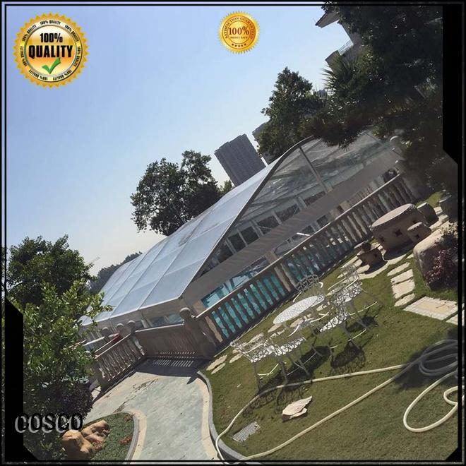 COSCO 25x60m arcum tent factory pest control