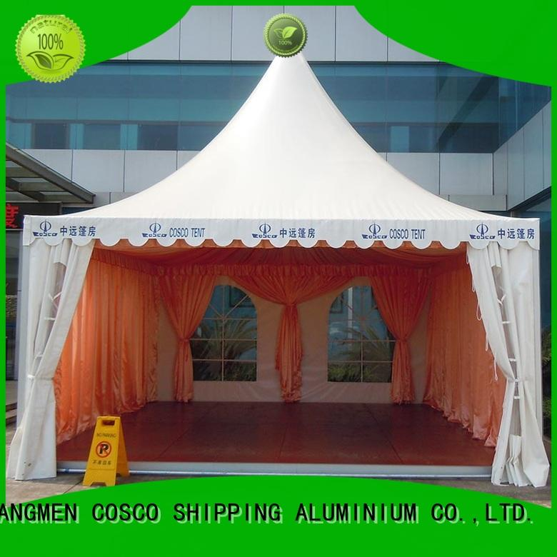 COSCO custom pagoda marquee management Sandy land