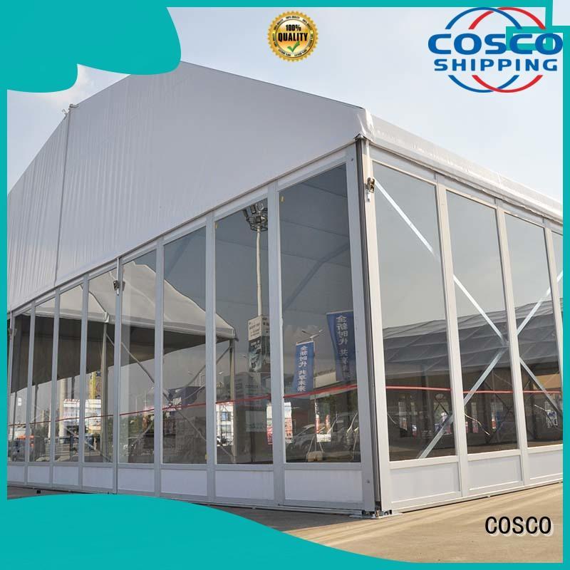 walls marquee tent wedding supply dustproof COSCO