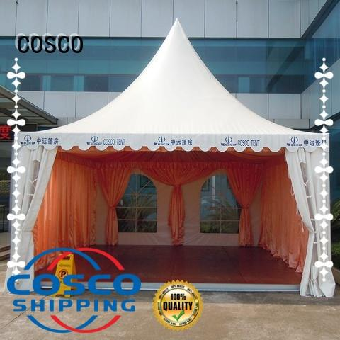 stable pagoda party tent producer for wedding COSCO