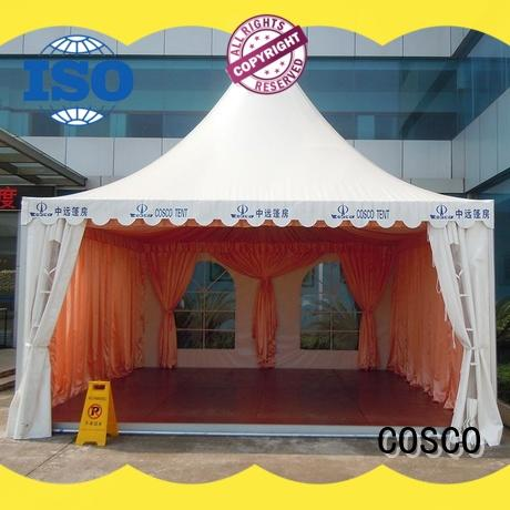 COSCO reliable pagoda party tent available dustproof