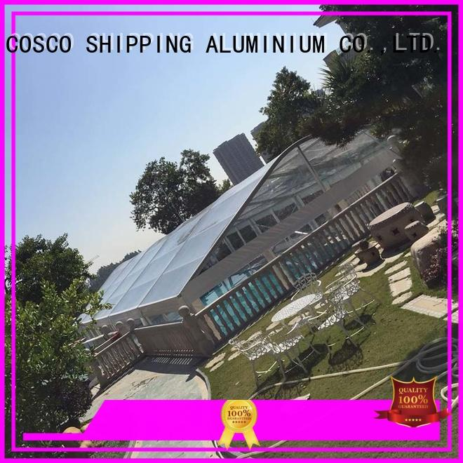 COSCO highest marquee tents prices for-sale