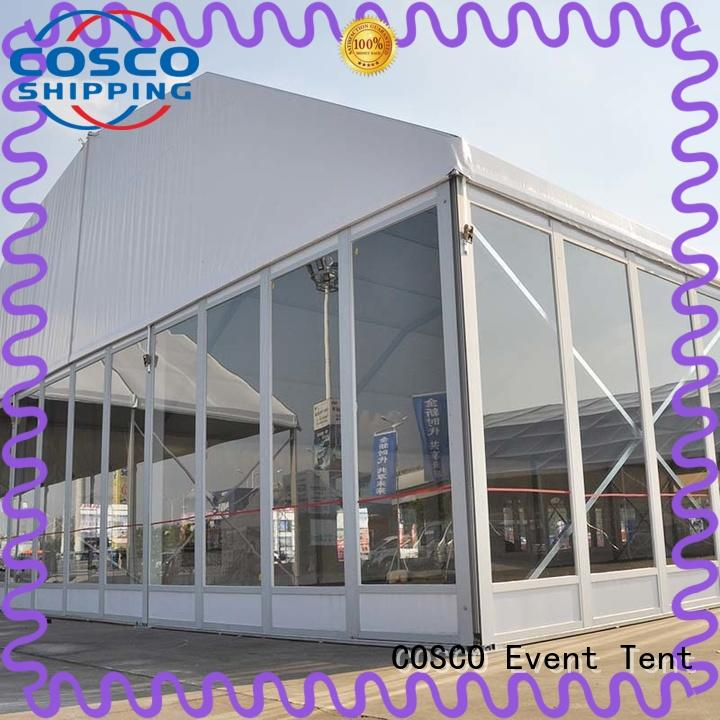 glass big tents for weddings in different shape dustproof COSCO