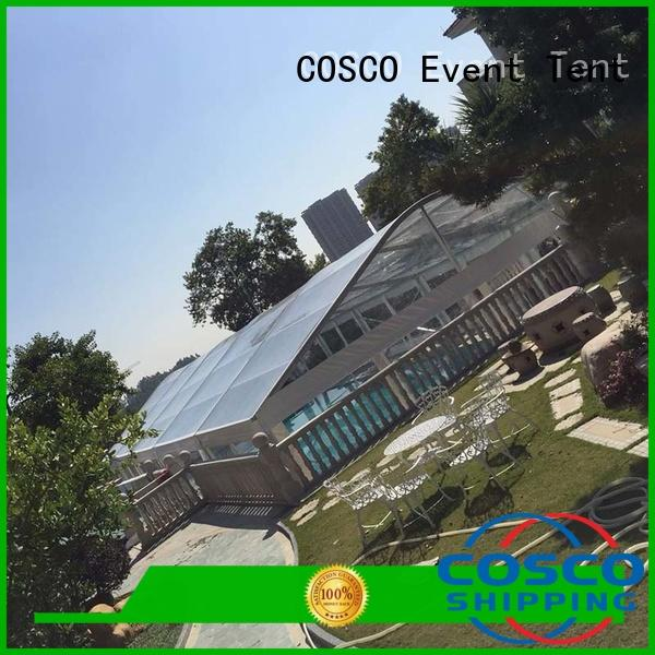 COSCO high-energy wedding party tent outdoor for event
