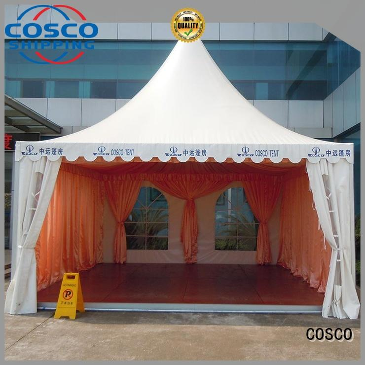 pagoda event marquees supplier Sandy land COSCO