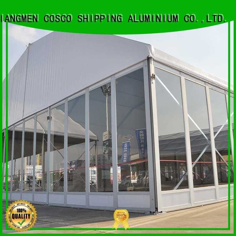 high-energy polygon tent moudular supply for event