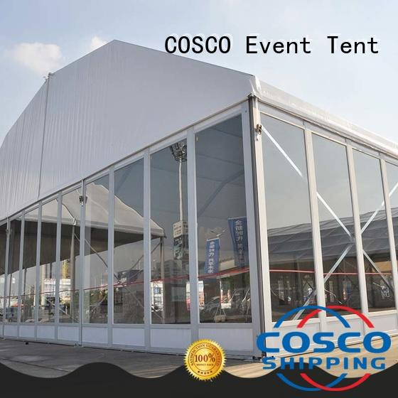 big party tent walls structure COSCO Brand tents and events
