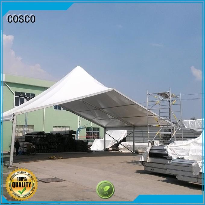 COSCO best high peak frame tent  manufacturer rain-proof