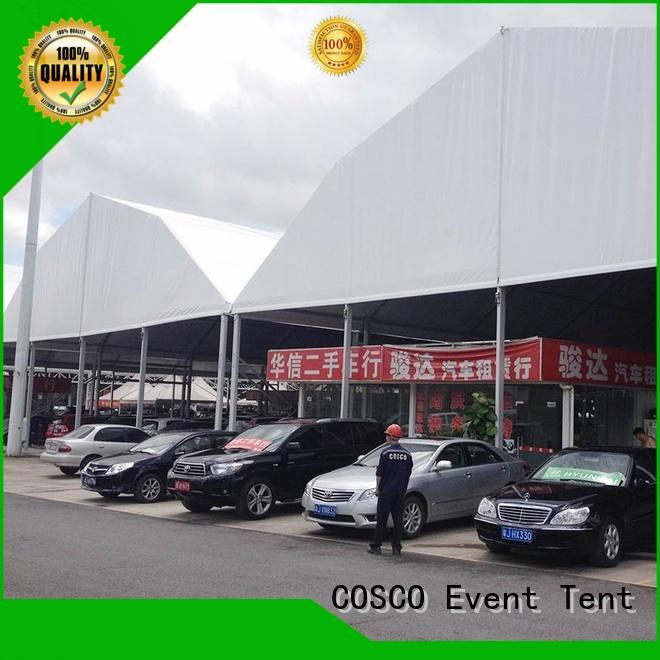 COSCO polygonal marquee tent pest control