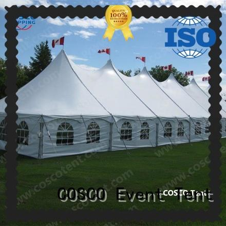 COSCO good-package peg and pole tents prices outdoor grassland