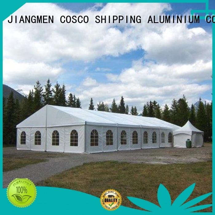 COSCO or structure tents for-sale Sandy land
