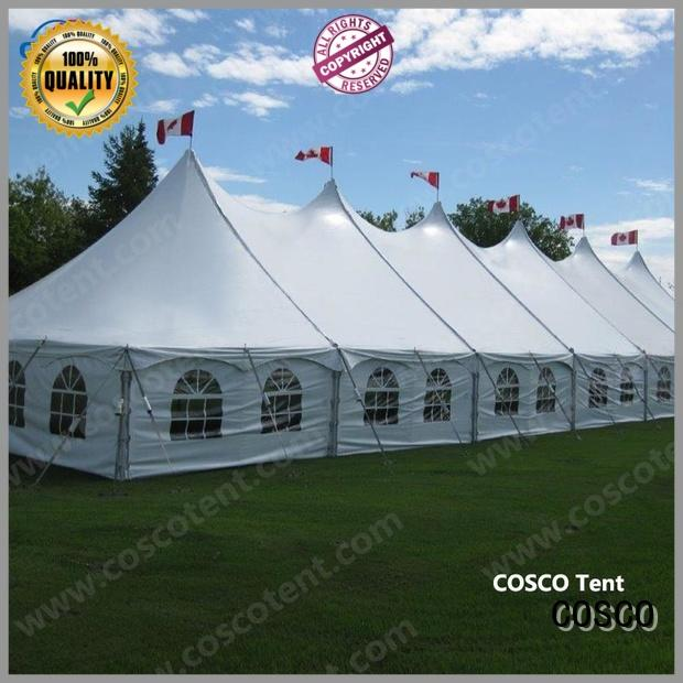 COSCO new-arrival peg and pole tents widely-use for camping