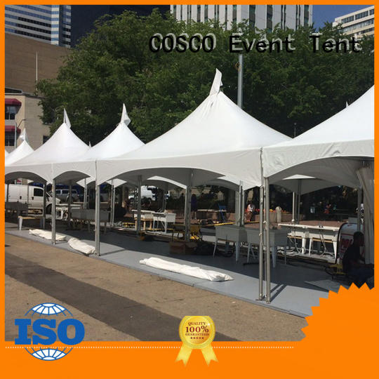 tent frame marquee marquee grassland COSCO