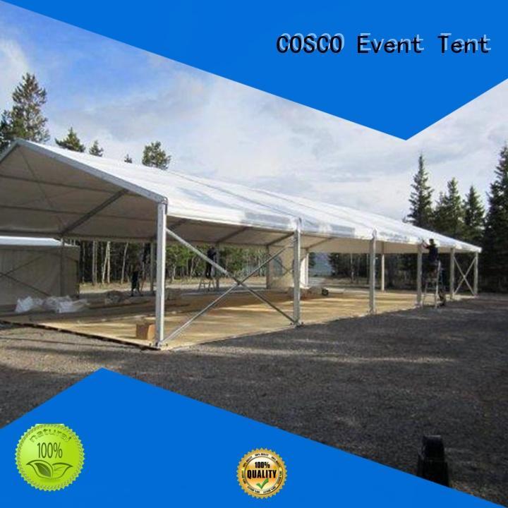 COSCO unique event tent marketing rain-proof