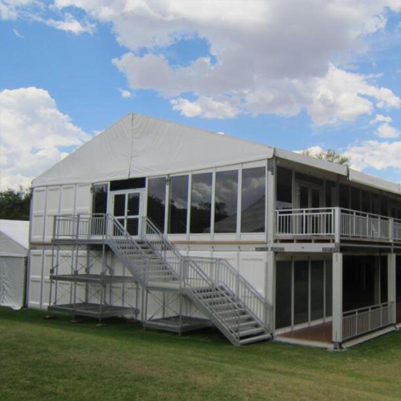 Double Descker Tent Aluminium Structure Tent Manufacturer