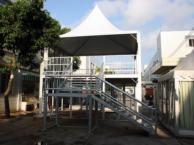 structure decker two clear party tent COSCO manufacture